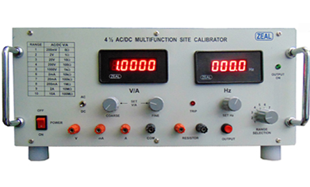 Multi Function Calibrators, Voltage & Current Standards