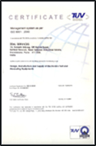 ISO- Certificate